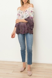 Mystree Ombre Floral Blouse - Product Mini Image