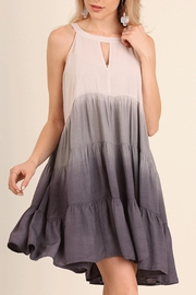 Umgee USA Ombre Keyhole Dress - Product Mini Image