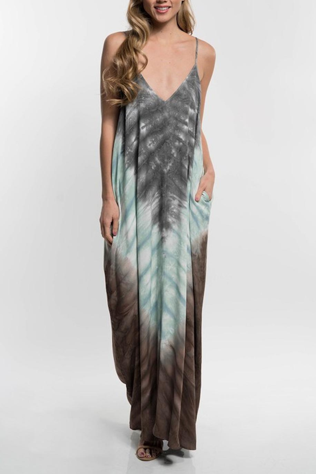 Lovestitch Ombre Maxi - Front Cropped Image
