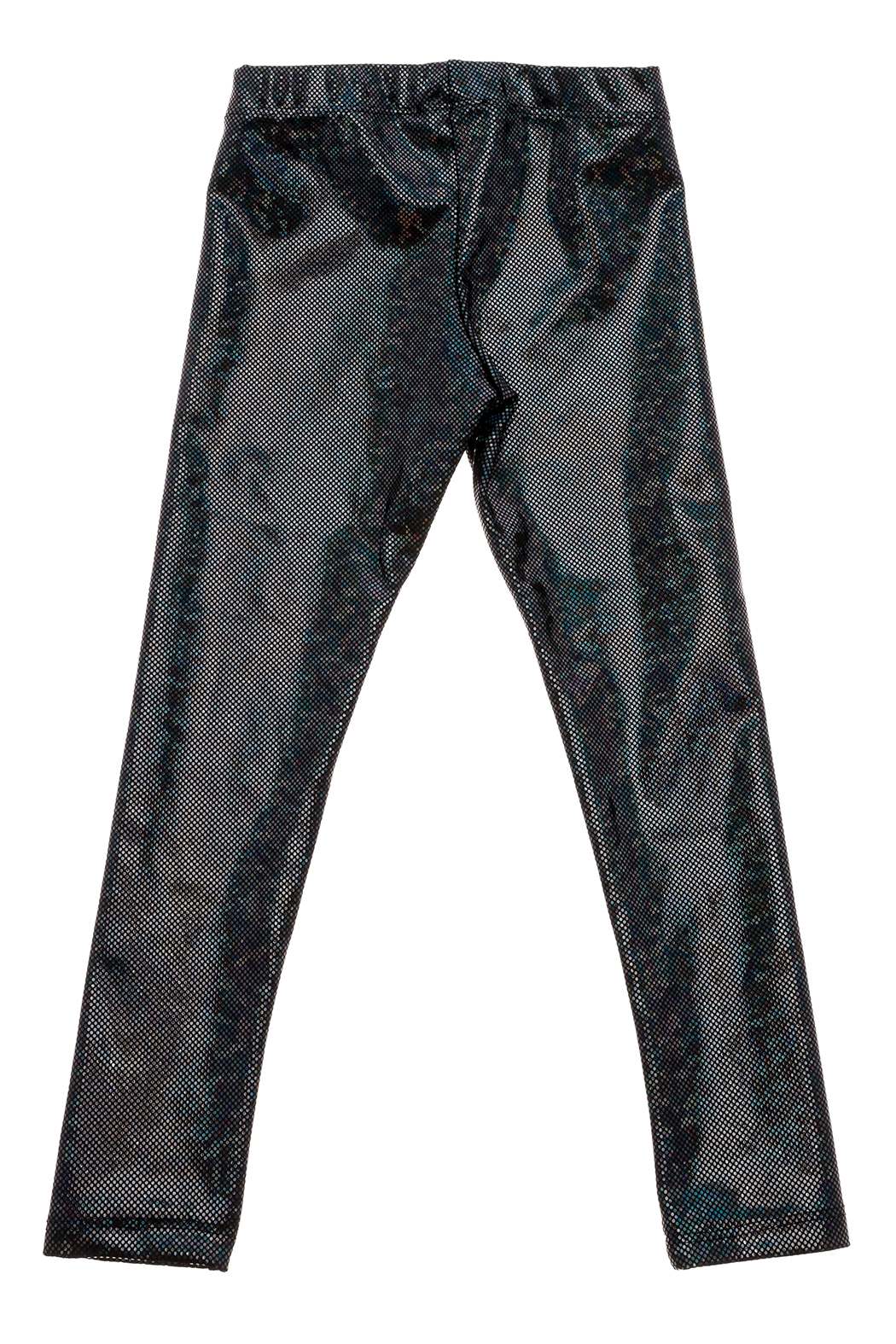 Rock Candy Ombre Metallic Leggings - Back Cropped Image