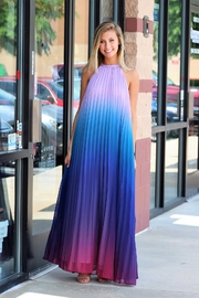 Latiste Ombre Open Back Maxi Dress - Product Mini Image