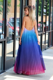 Latiste Ombre Open Back Maxi Dress - Front full body