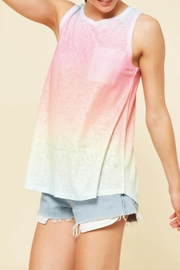 Promesa USA Ombre Rainbow Top - Product Mini Image