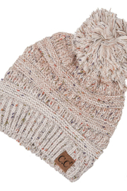 Judson & Co. Ombre ribbed hat - Front cropped