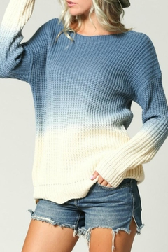 KyeMi Ombre Scallop Sweater - Product List Image
