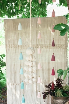PAPAYA! Ombre-Sea-Spray Tassel Tier - Alternate List Image