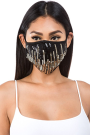 Daylight  Ombre Sequin Face Mask - Product Mini Image