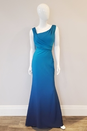 Montage Ombre Shimmer Gown, Peacock/Navy - Product Mini Image