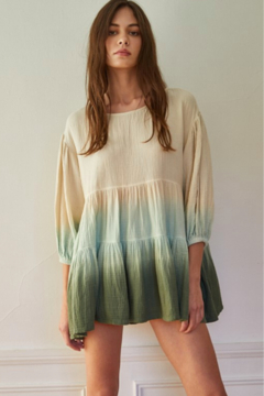 Blank Paige Ombre Sleeved Tunic - Product List Image