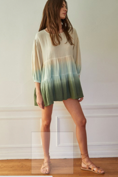 Blank Paige Ombre Sleeved Tunic - Alternate List Image