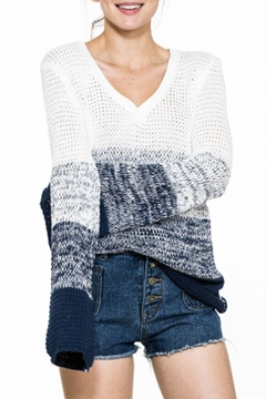 En Creme Ombre Spring Sweater - Product List Image