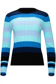 Yal NY Ombre striped ribbed top - Product Mini Image