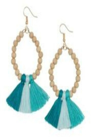 Occasionally Made Ombre Tassel Earrings - Front cropped