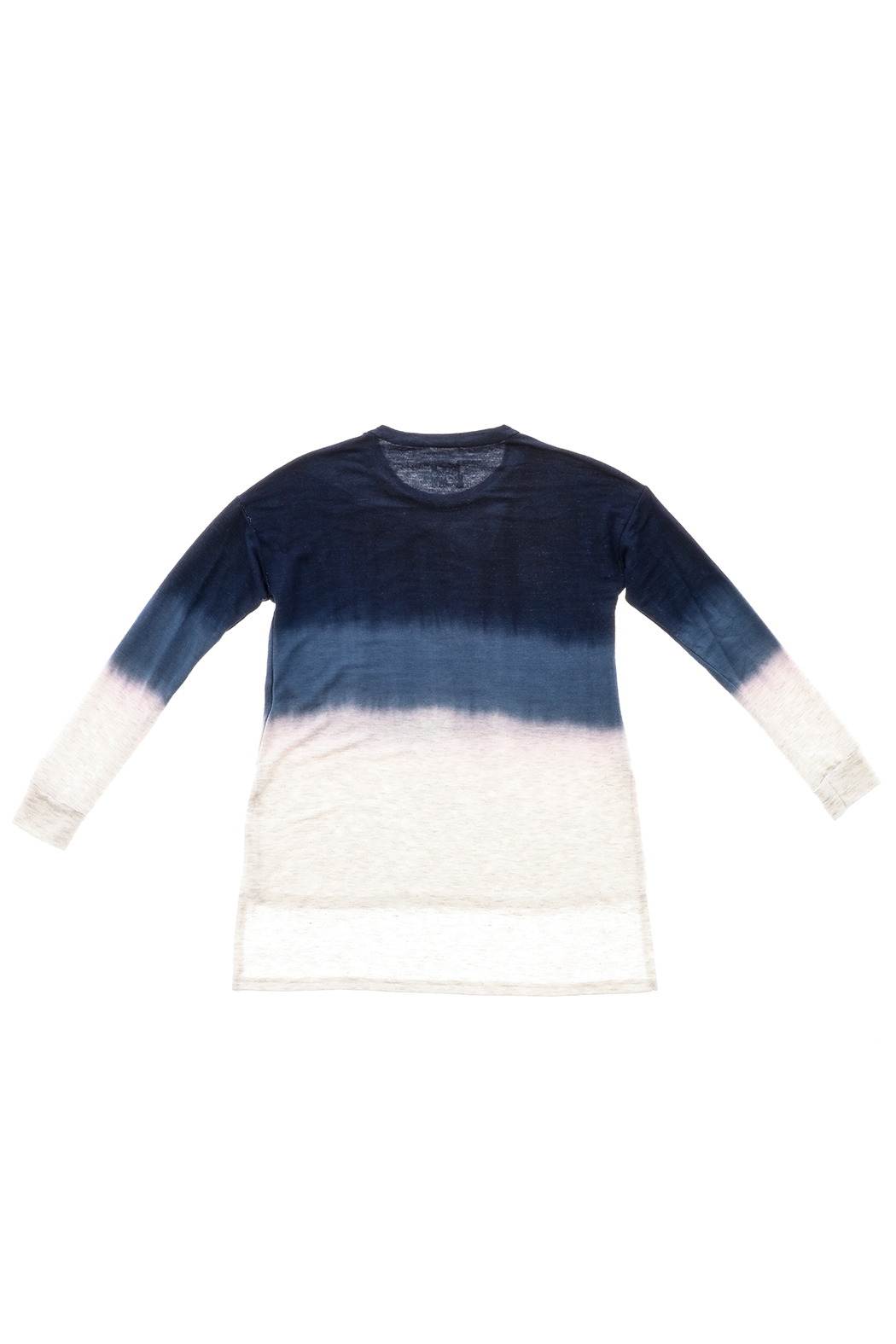 Rock Candy Ombre Terry Tee - Back Cropped Image