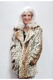 Cap Zone Ombre Toned Leopard Patterned Jacket - Product Mini Image