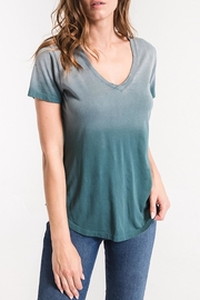 z supply Ombre v-Neck Tee - Product Mini Image