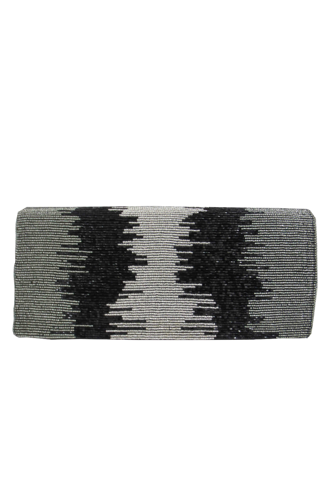 Sondra Roberts Ombred Beads Flap Clutch - Main Image