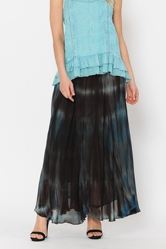 Apparel Love Ombrey Blue and Brown Skirt - Alternate List Image