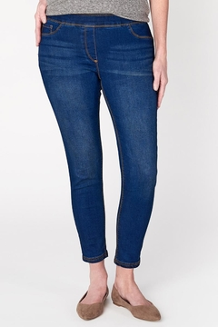 Coco + Carmen Omg Dark-Wash Skinny-Jeans - Alternate List Image