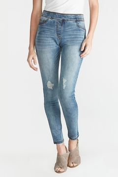 Coco + Carmen Omg Distressed Skinny-Jeans - Alternate List Image