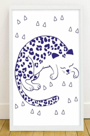 OMY Leopard Glow Poster - Product Mini Image
