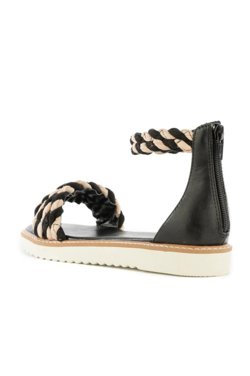 BC Footwear On a Pedestal Twisted Sandal - Front Full Image