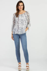 Tribal On-and-Off Shoulder Blouse - Product Mini Image