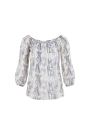 Tribal  On/off the shoulders blouse - Product Mini Image