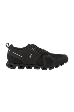 on running On Running Women's Cloud Waterproof in Black/Lunar - Product List Image