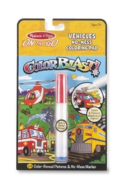 Melissa and Doug On The Go Color Blast No-Mess Coloring Pad - Front cropped