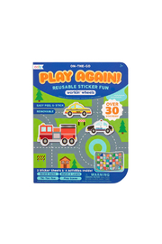 Ooly On-The-Go Play Again Reusable Sticker Fun: Workin' Wheels - Product Mini Image