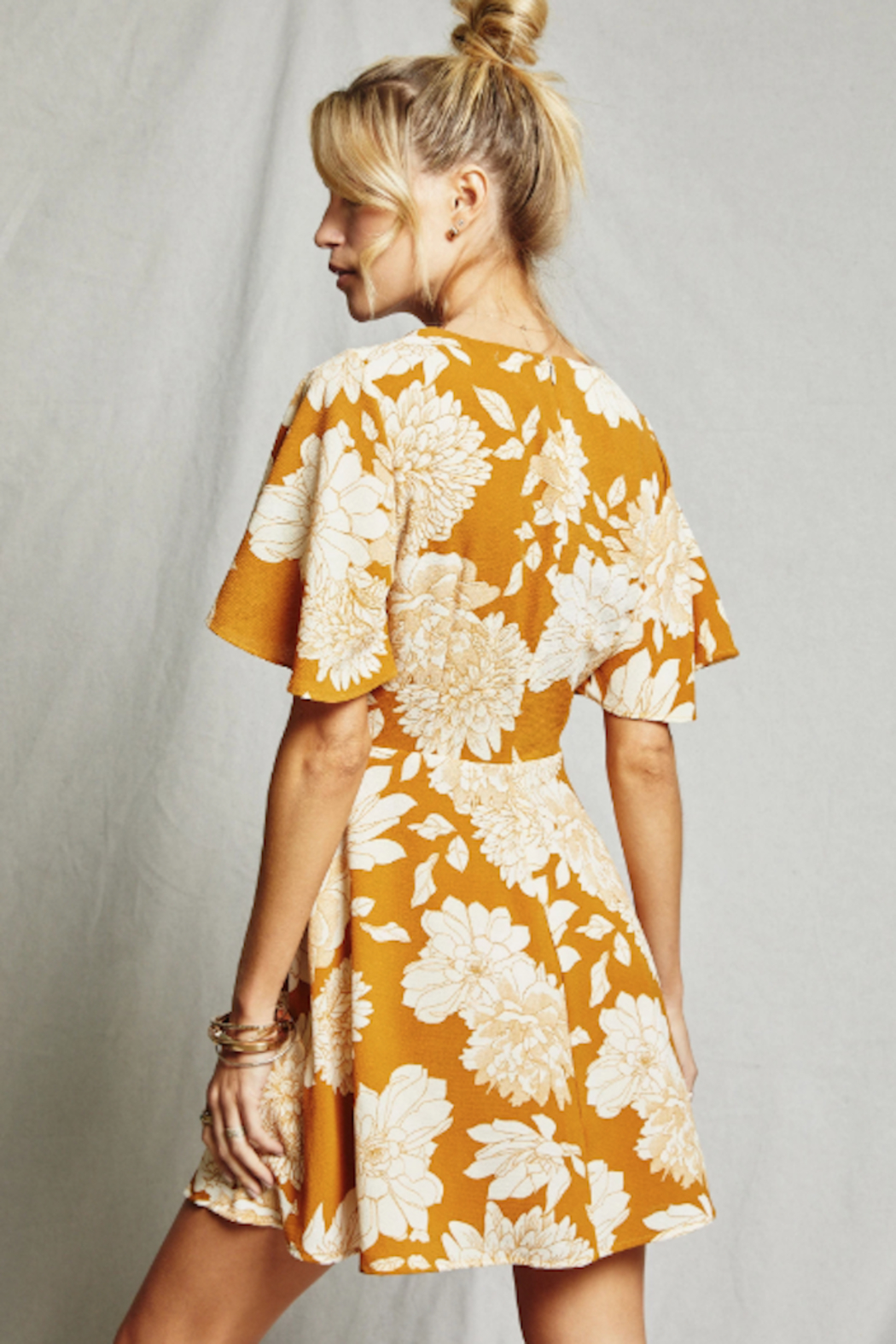 SAGE THE LABEL On The Sunset Dress - Front Full Image