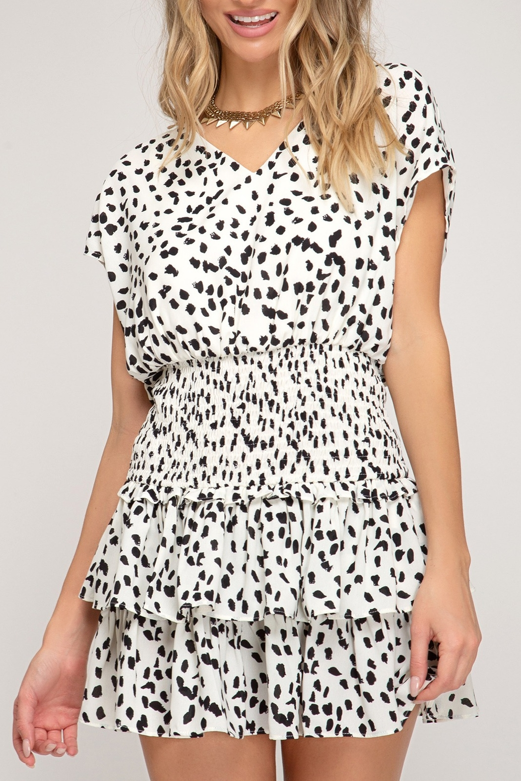 She + Sky On Trend Dress - Front Cropped Image