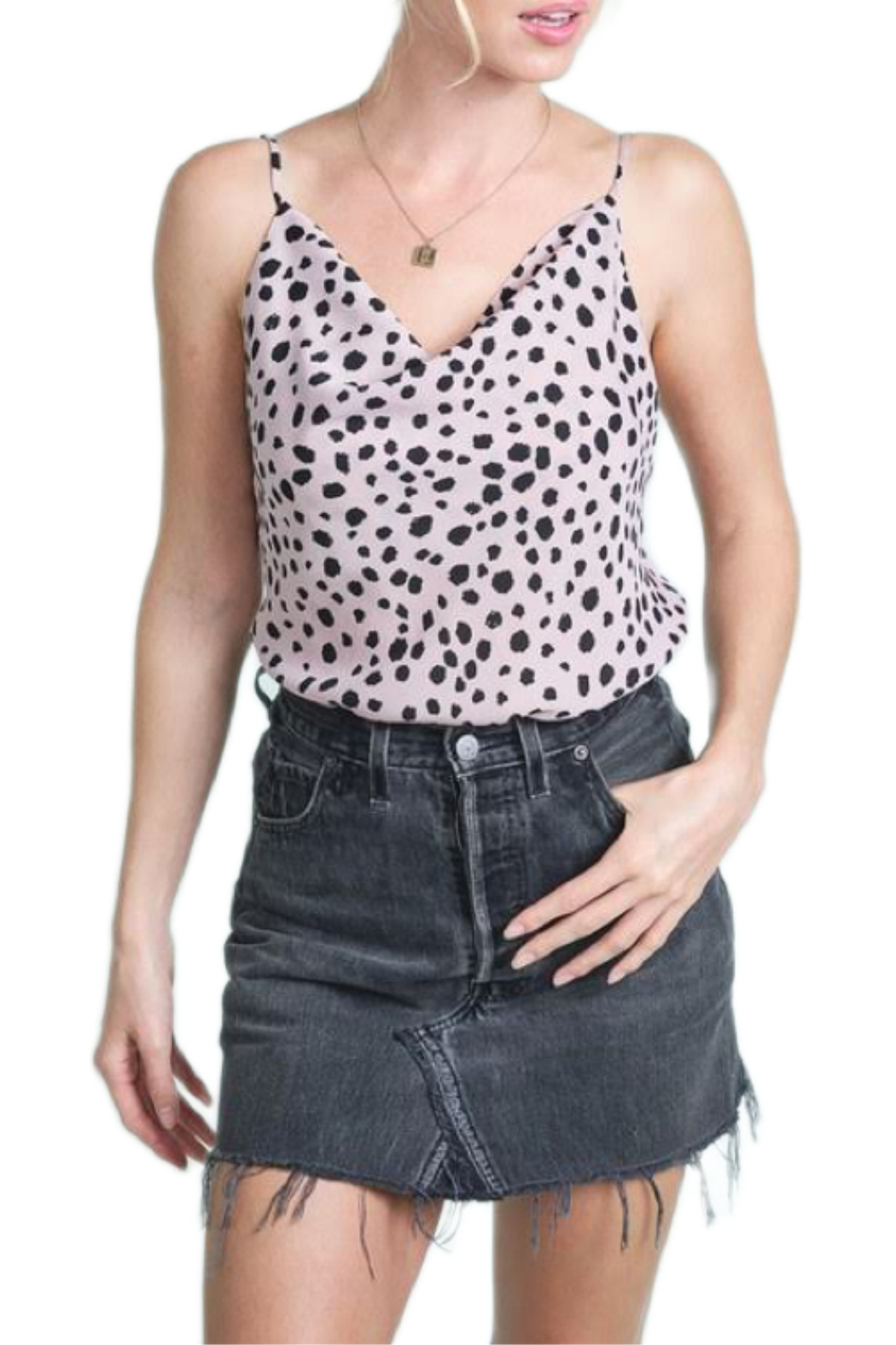 LA MIEL  On Trend top - Front Cropped Image