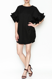 On Twelfth Ruffle Sleeve Dress - Front full body