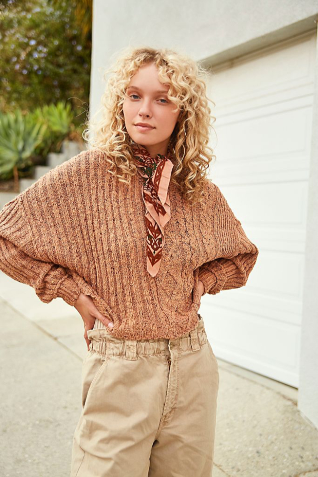 Free People  On Your Side Pullover - Front Cropped Image