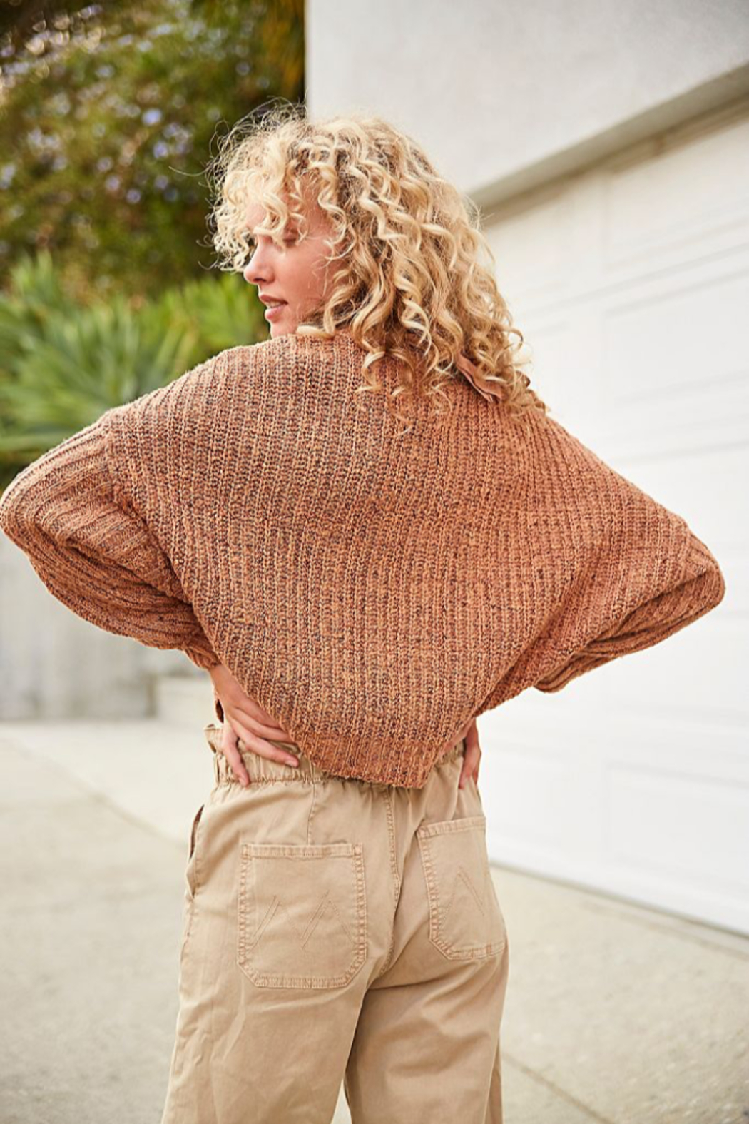 Free People  On Your Side Pullover - Front Full Image