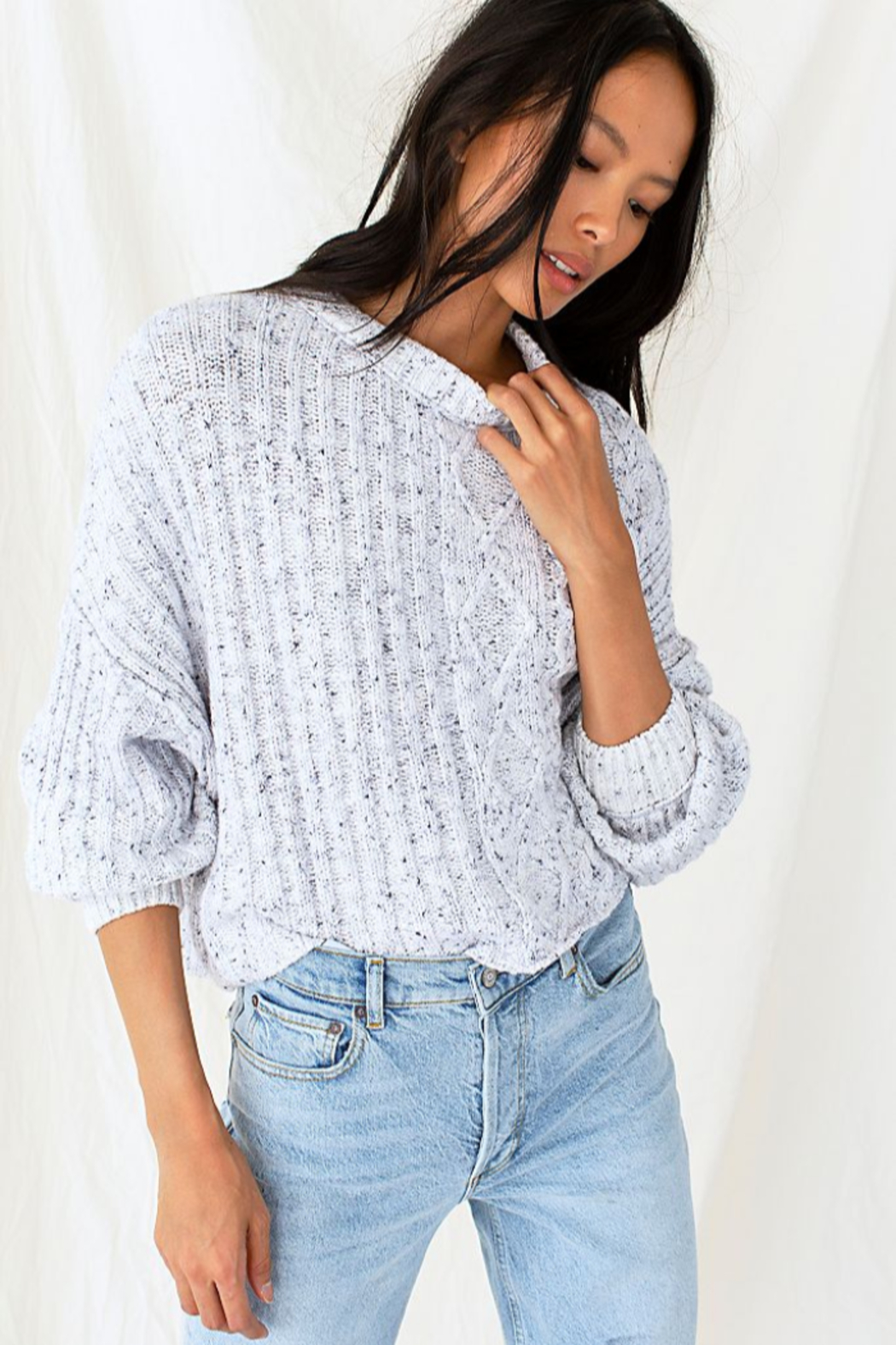 Free People On Your Side Pullover - Main Image