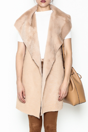 on12th Faux Fur Vest - Front full body
