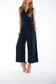 On The Road Belted Tencel Jumpsuit - Product Mini Image