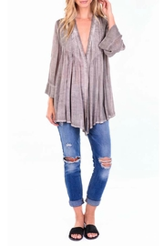 On The Road Boho Peasant Top - Product Mini Image