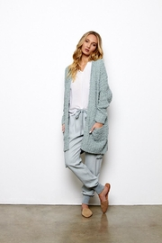 On The Road Cozy Cardigan Mint - Product Mini Image
