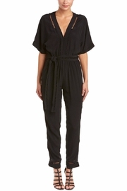 On The Road Lattice-Stitch Jumpsuit - Front cropped