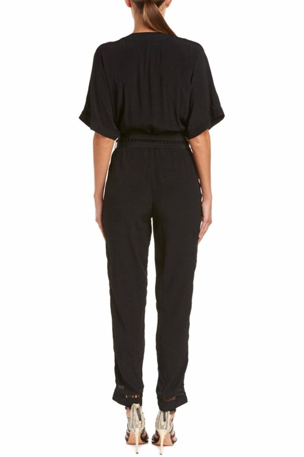 On The Road Lattice-Stitch Jumpsuit - Front Full Image