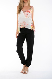 On The Road Lily Floral Print Top - Product Mini Image