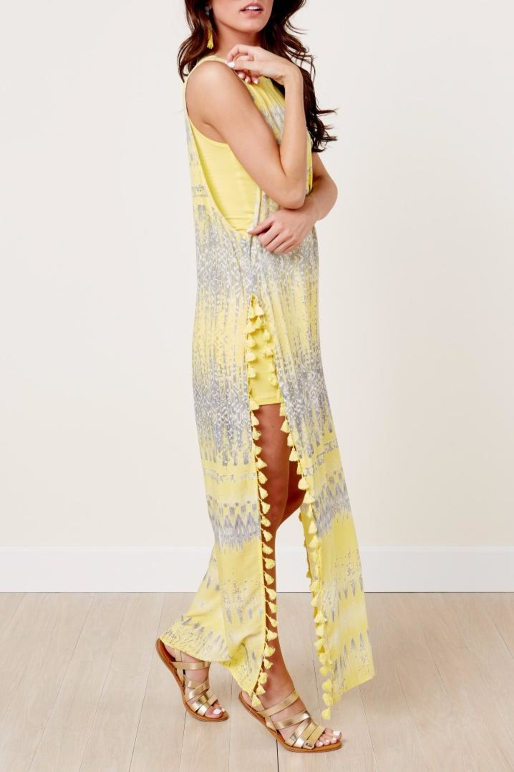 On The Road Nile Maxi Dress - Front Full Image