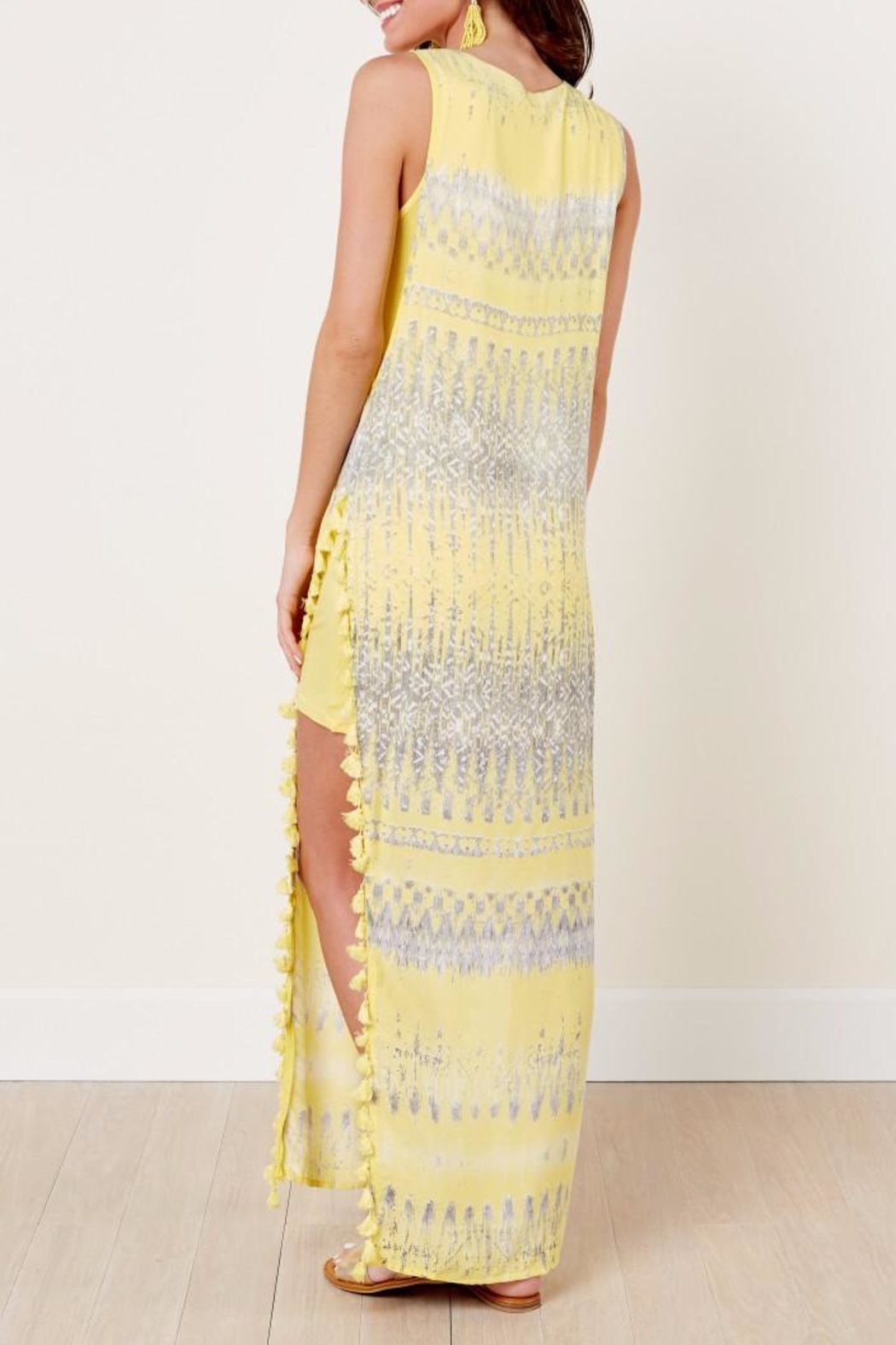 On The Road Nile Maxi Dress - Side Cropped Image