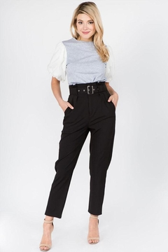 On Twelfth Belted Pleated Pants - Product List Image