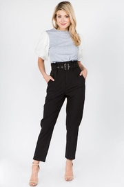 On Twelfth Belted Pleated Pants - Product Mini Image