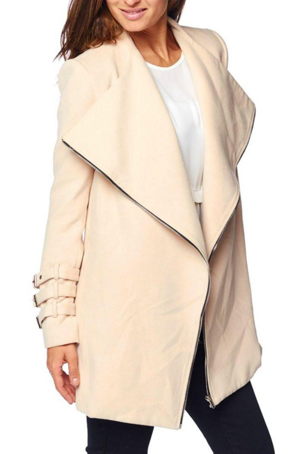 1bb591236 On Twelfth Cream Drape Coat from New Jersey by Locust Whimsy ...